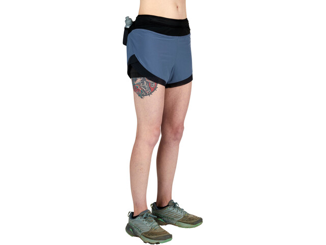 Ultimate Direction Hydro Shorts Women, slate blue